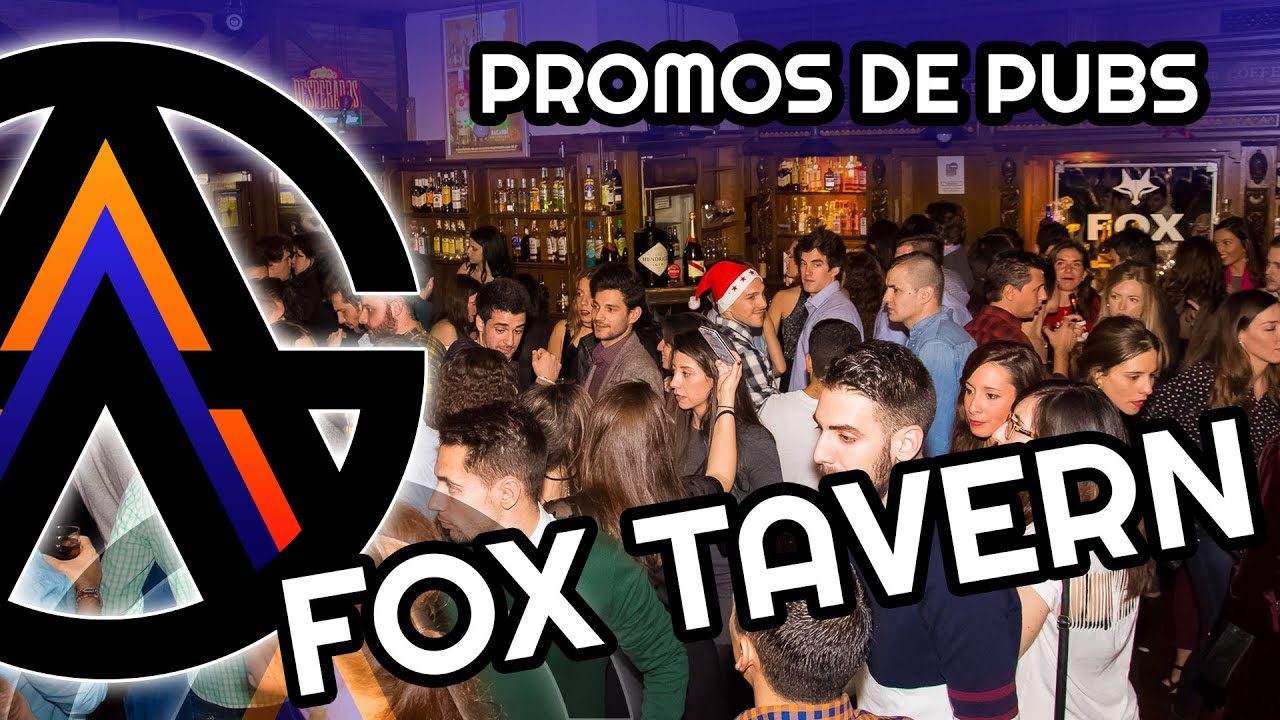 FOX TAVERN en ZARAGOZA Vdeo promocional by Abdul Grau 2017