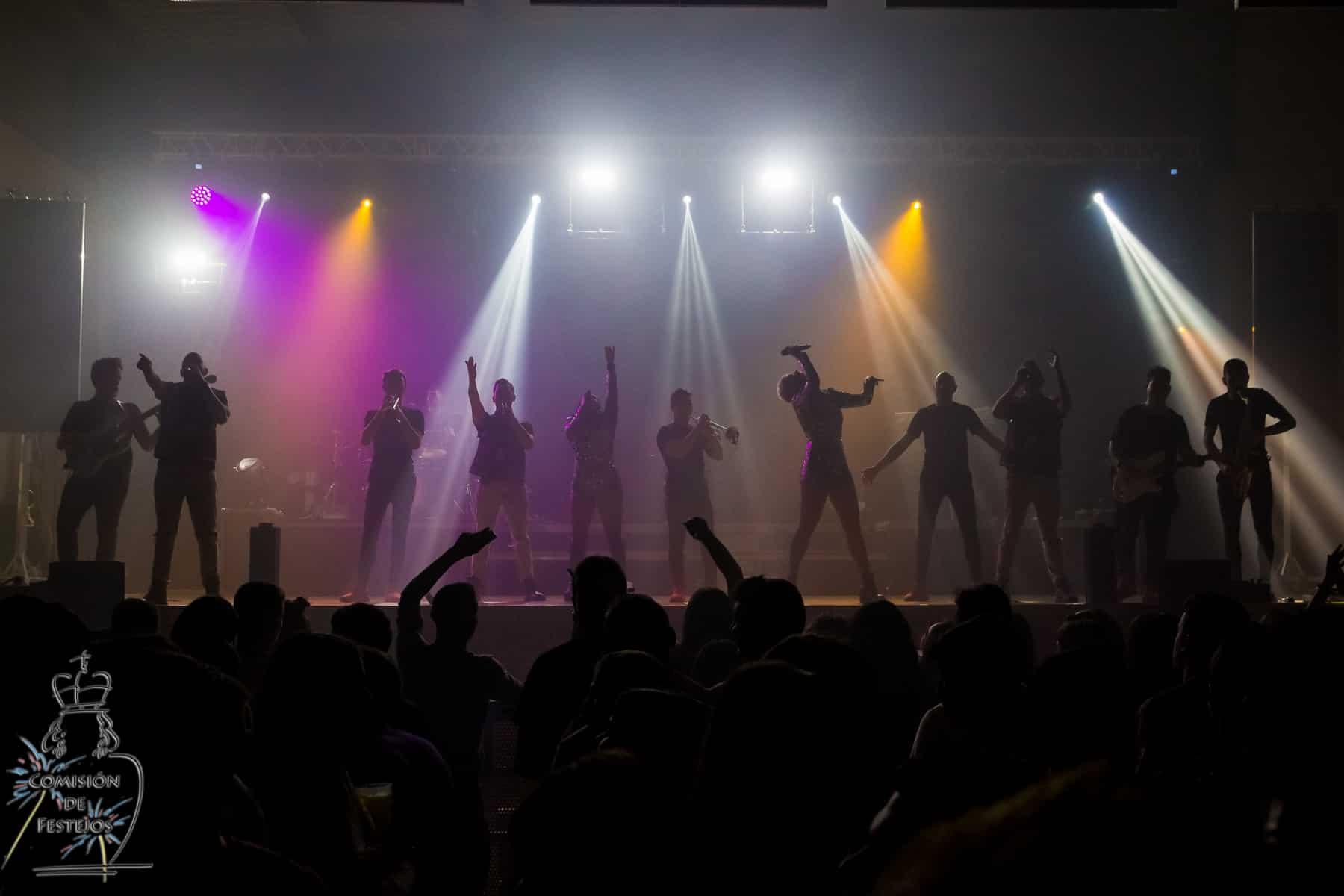 orquesta formula show en la almunia